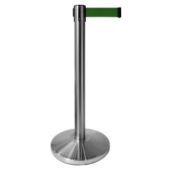 Separador de Fita Aço Inox 63x845mm (Fita de 2,0m) - Base Fixa