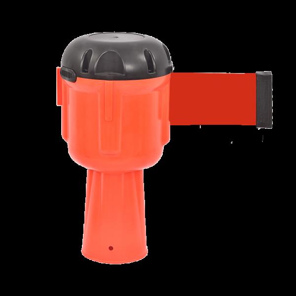 Topo de Cone em Plástico-Vermelho