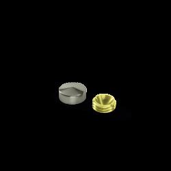 Capsula Inox Boleada - 15mm