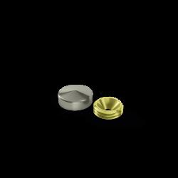 Capsula Inox Boleada - 18mm