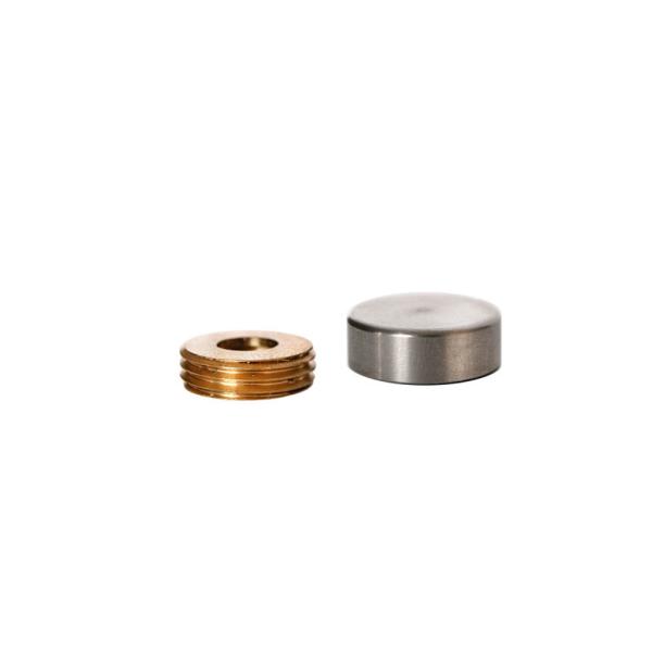 Capsula Inox Lisa - 15mm
