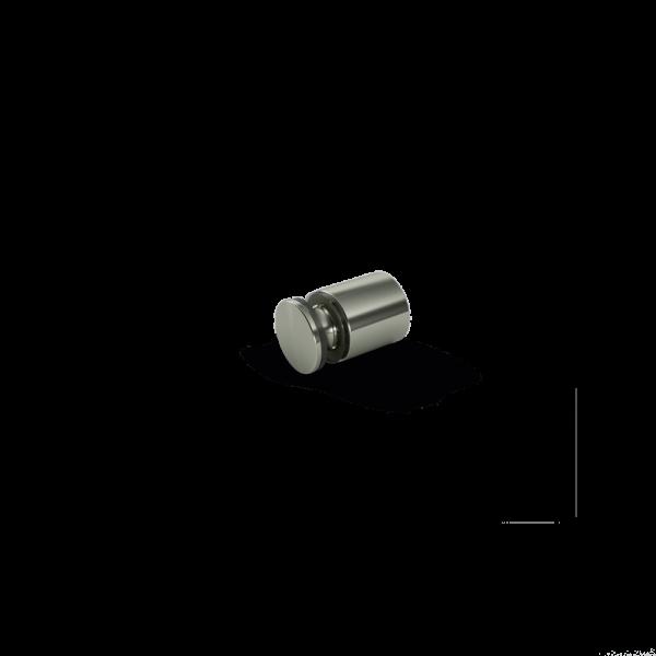 Suporte Parede Inox - 11x10 mm